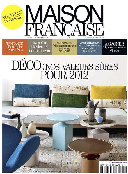 download maison francaise 576 fevrier mars 2012 pdf magazine. Black Bedroom Furniture Sets. Home Design Ideas