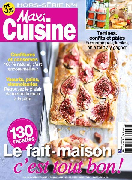 Download maxi cuisine hors serie 4 2013 pdf magazine for Hors serie cuisine