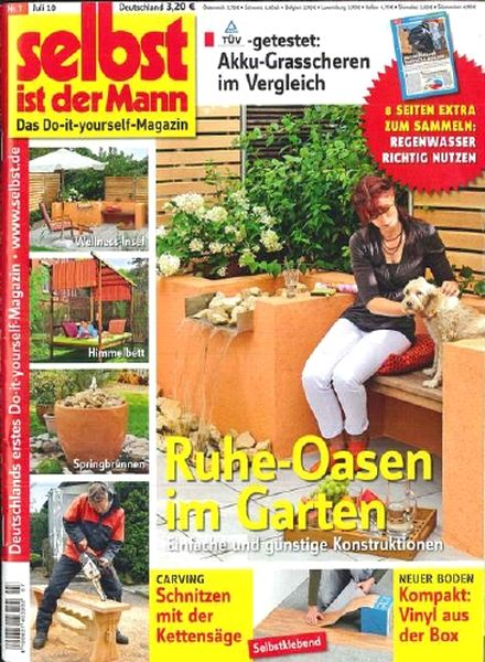 download selbst ist der mann july 2010 pdf magazine. Black Bedroom Furniture Sets. Home Design Ideas