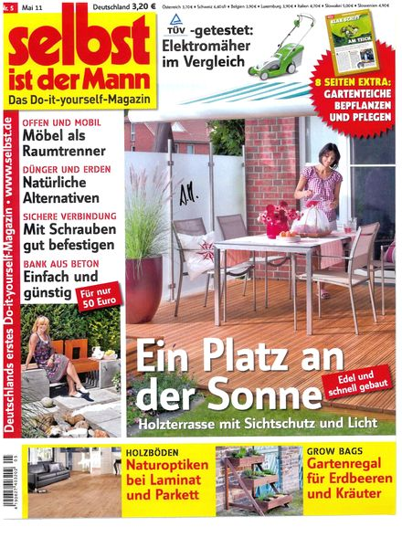 download selbst ist der mann may 2011 pdf magazine. Black Bedroom Furniture Sets. Home Design Ideas