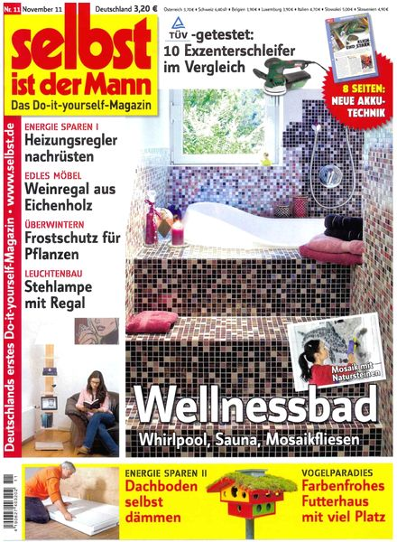 download selbst ist der mann november 2011 pdf magazine. Black Bedroom Furniture Sets. Home Design Ideas