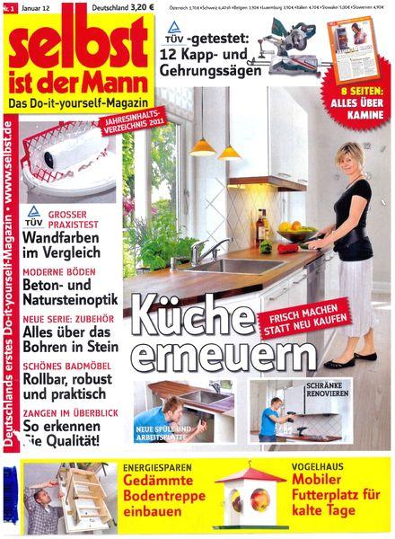 download selbst ist der mann january 2012 pdf magazine. Black Bedroom Furniture Sets. Home Design Ideas