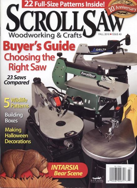 Download Scroll Saw Woodworking & Crafts – Issue 40, Fall ...