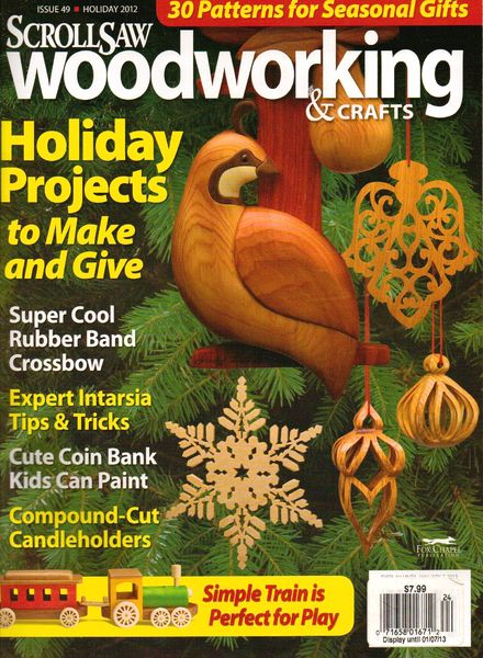 Download Scrollsaw Woodworking & Crafts – Issue 49 - PDF ...