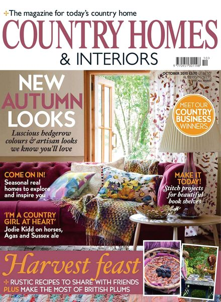 Download Country Homes Interiors October 2010 Pdf Magazine