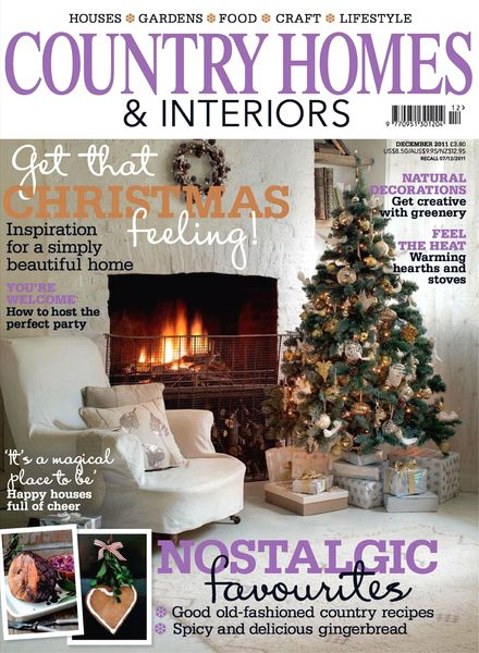 Download Country Homes Interiors December 2011 Pdf