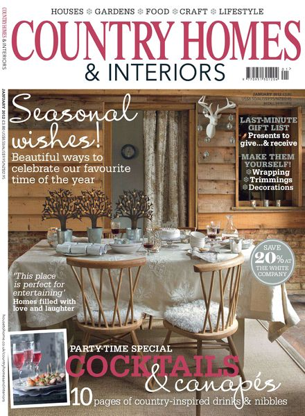 Download Country Homes Interiors January 2012 Pdf