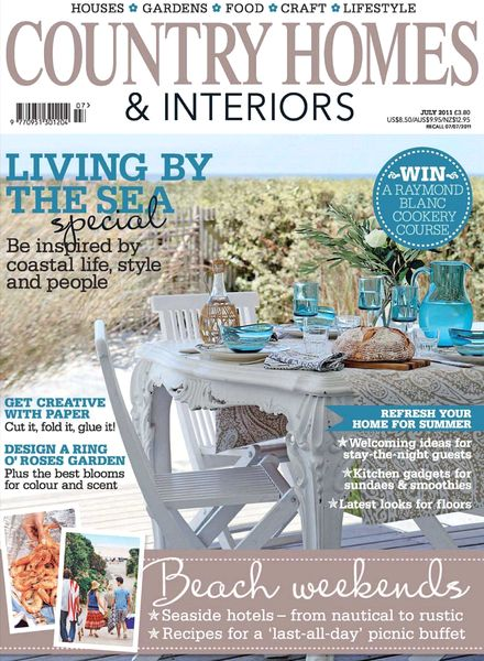 Download Country Homes Interiors July 2011 Pdf Magazine