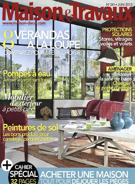 download maison travaux june 2012 pdf magazine. Black Bedroom Furniture Sets. Home Design Ideas