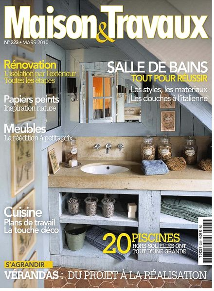 download maison travaux march 2010 pdf magazine. Black Bedroom Furniture Sets. Home Design Ideas