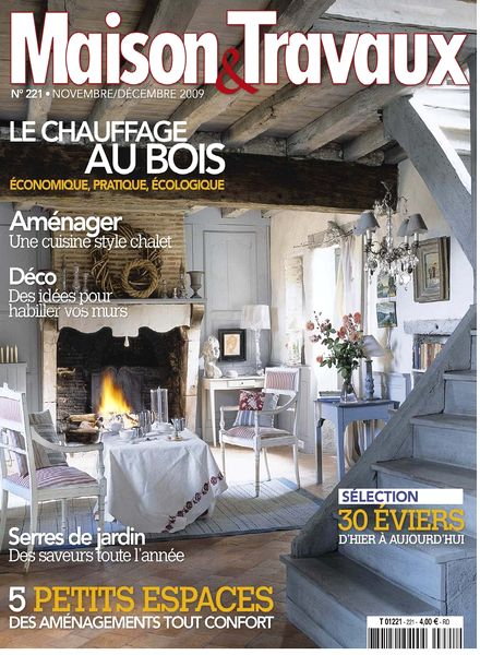 download maison travaux november december 2009 pdf magazine. Black Bedroom Furniture Sets. Home Design Ideas