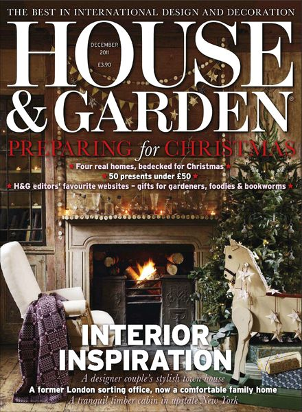 Download House Garden Magazine December 2011 PDF Magazine