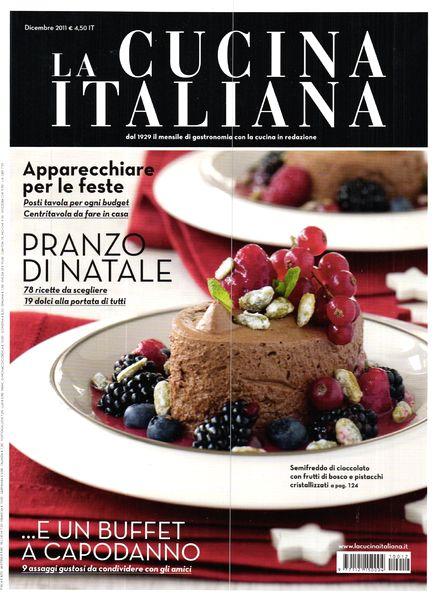 download la cucina italiana december 2011 pdf magazine