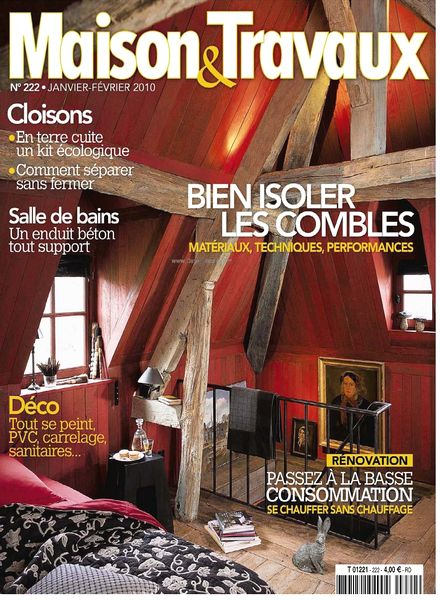 download maison travaux january february 2010 pdf magazine. Black Bedroom Furniture Sets. Home Design Ideas
