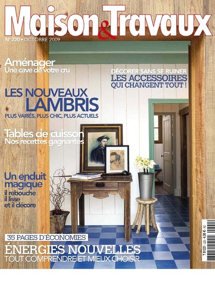 download maison travaux october 2009 pdf magazine. Black Bedroom Furniture Sets. Home Design Ideas