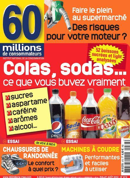 Download 60 millions de consommateurs 473 juillet 2012 - Abonnement 60 millions de consommateur ...