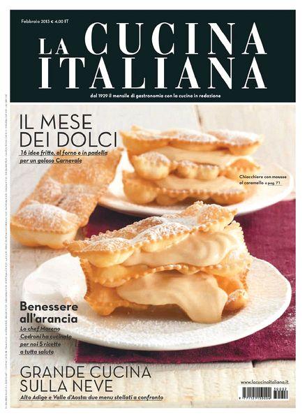 download la cucina italiana february 2013 pdf magazine. Black Bedroom Furniture Sets. Home Design Ideas