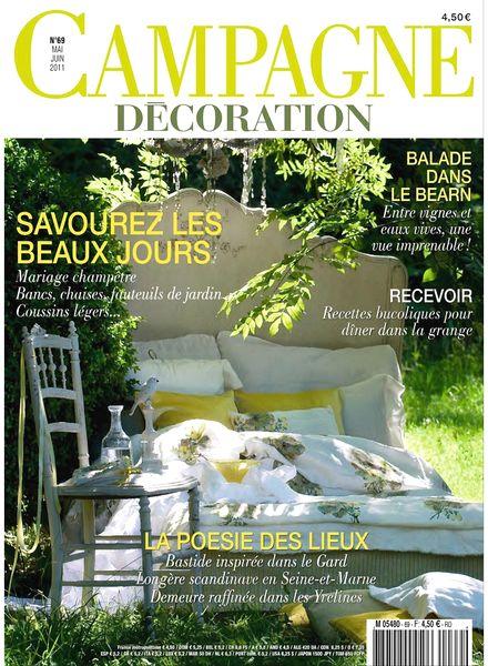 download campagne decoration 69 may june 2011 pdf magazine. Black Bedroom Furniture Sets. Home Design Ideas