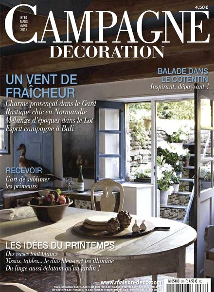 Download campagne decoration 80 mars avril 2013 pdf magazine - Home decoration campagne ...