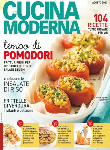 Download cucina moderna agosto 2013 pdf magazine for Cucina moderna magazine