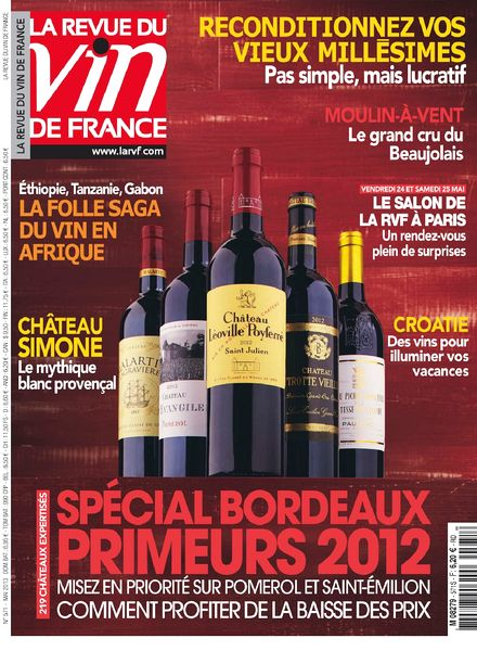 Download la revue du vin de france n 571 mai 2013 pdf for Revue des vins de france