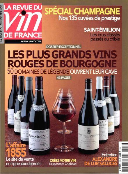 Download la revue du vin de france n 567 decembre 2012 for Revue vin de france