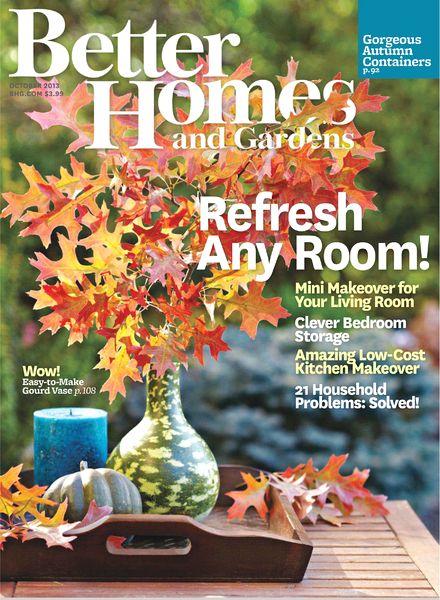 Download Better Homes Gardens October 2013 Pdf Magazine