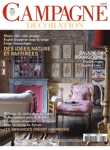 Download campagne decoration 61 january february 2010 pdf magazine - Home decoration campagne ...