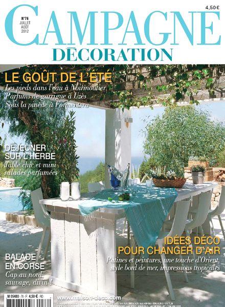 download campagne decoration 76 juillet aout 2012 pdf magazine. Black Bedroom Furniture Sets. Home Design Ideas
