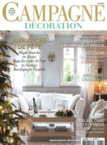download campagne decoration 78 novembre decembre 2012 pdf magazine. Black Bedroom Furniture Sets. Home Design Ideas