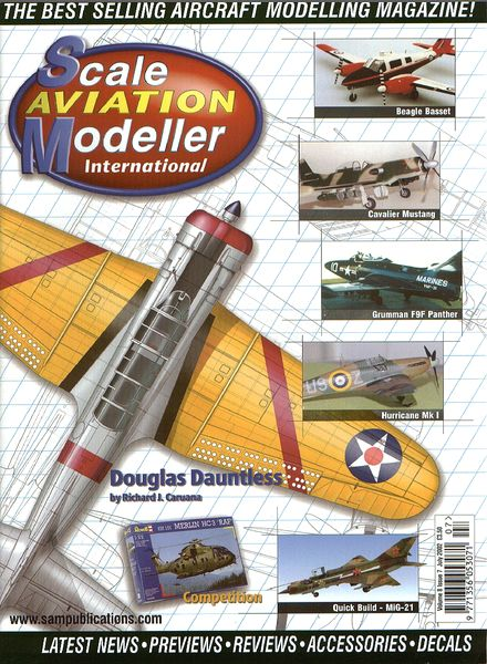 SCALE AVIATION MODELLER INTERNATIONAL, JUNE, 2016 VOL. 22 ISSUE, 6  COBRA