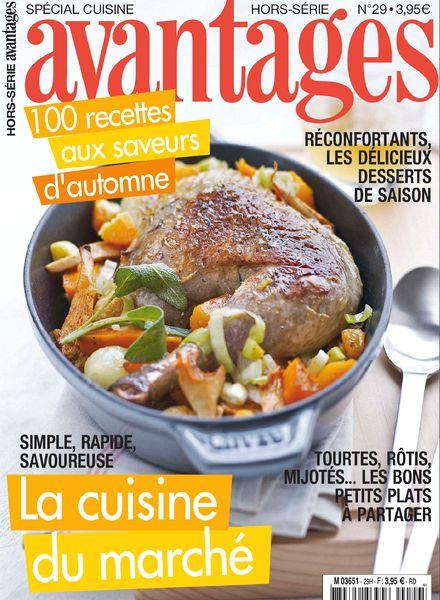 Download avantages hors serie cuisine n 29 pdf magazine for Hors serie cuisine