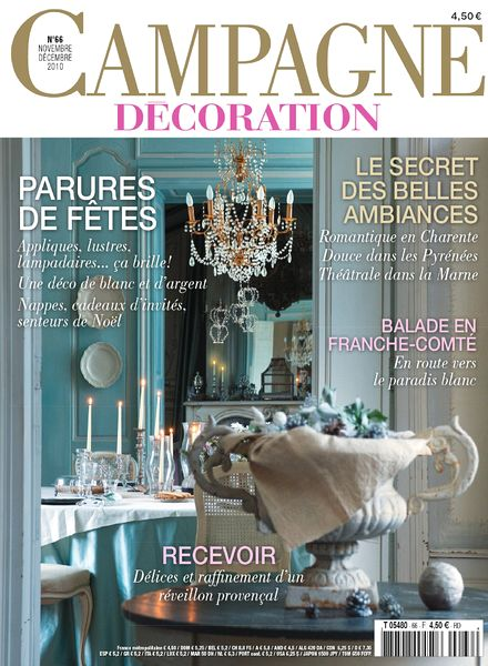 download campagne decoration 66 november december 2010 pdf magazine. Black Bedroom Furniture Sets. Home Design Ideas