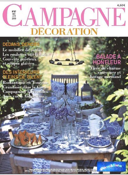 download campagne decoration 57 may june 2009 pdf magazine. Black Bedroom Furniture Sets. Home Design Ideas