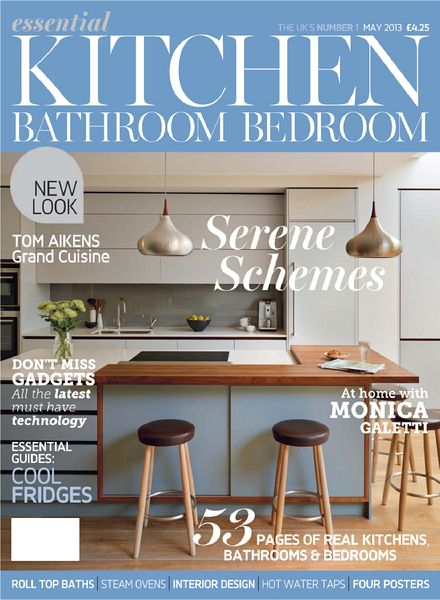 Download Essential Kitchen Bathroom Bedroom May 2013 PDF Magazine