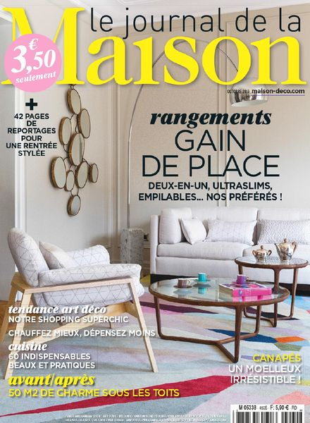 download le journal de la maison n 460 octobre 2013 pdf magazine. Black Bedroom Furniture Sets. Home Design Ideas