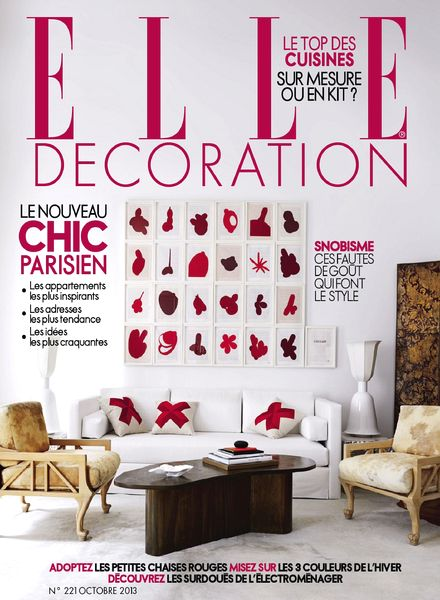 Download elle decoration france n 221 octobre 2013 pdf for Elle decoration france