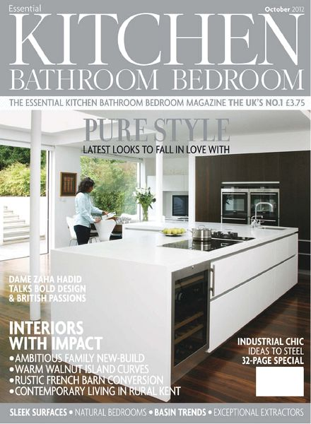 Download essential kitchen bathroom bedroom october 2012 pdf magazine for Essential kitchens and bathrooms