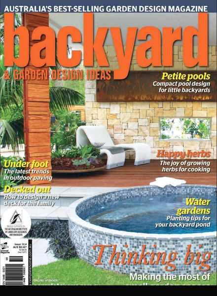 Download Backyard & Garden Design Ideas Magazine Issue 10