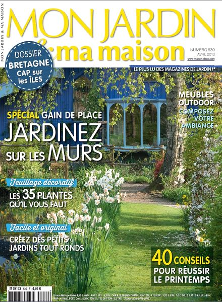 Download mon jardin ma maison 2013 04 639 pdf magazine for Magazine maison jardin