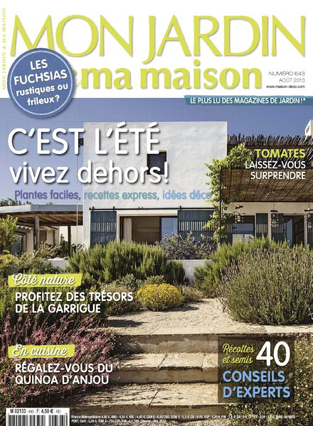 Download mon jardin ma maison 2013 08 643 pdf magazine for Magazine maison jardin