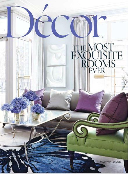 Decorating Magazines Download Decor Magazine Fall Winter 2013 PDF Magazine