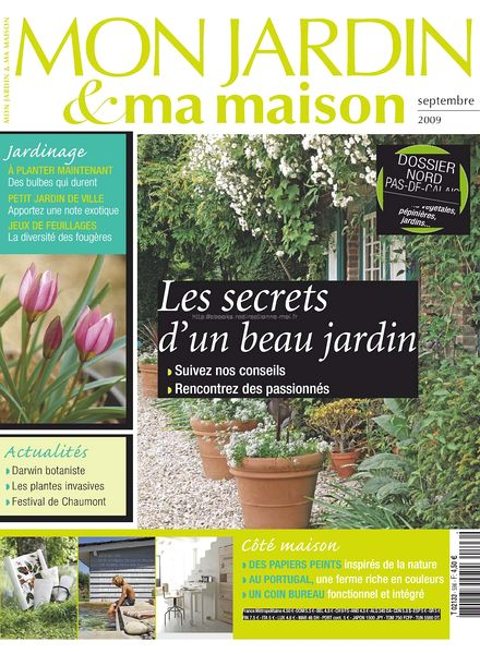 download mon jardin ma maison 596 pdf magazine. Black Bedroom Furniture Sets. Home Design Ideas