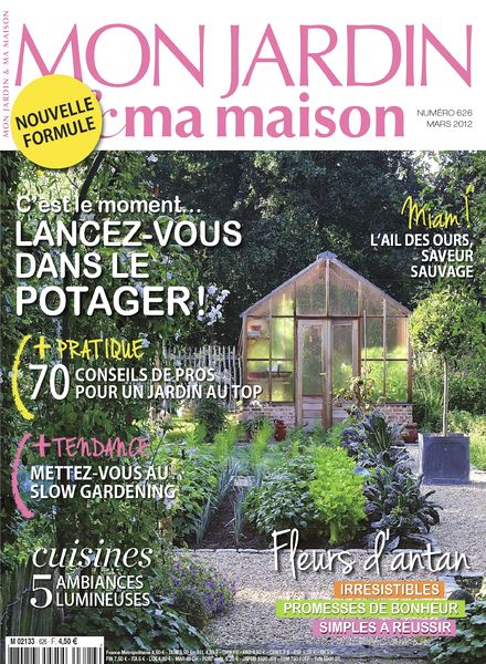 download mon jardin ma maison 626 mars 2012 pdf magazine. Black Bedroom Furniture Sets. Home Design Ideas