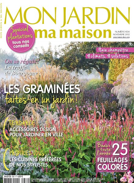 download mon jardin ma maison 2012 11 634 pdf magazine. Black Bedroom Furniture Sets. Home Design Ideas