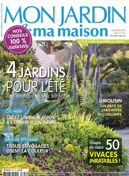 download mon jardin ma maison 2013 07 642 pdf magazine. Black Bedroom Furniture Sets. Home Design Ideas