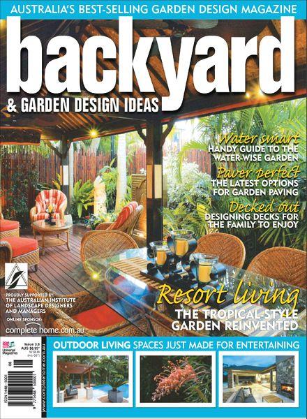 Download backyard garden design ideas magazine issue 3 8 for Garden design back issues