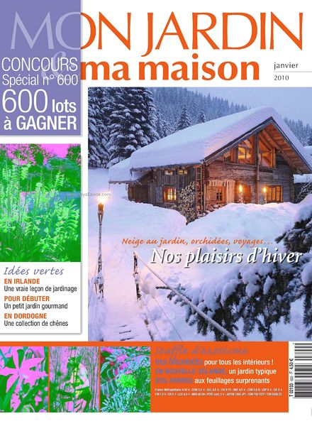 download mon jardin ma maison 600 pdf magazine. Black Bedroom Furniture Sets. Home Design Ideas
