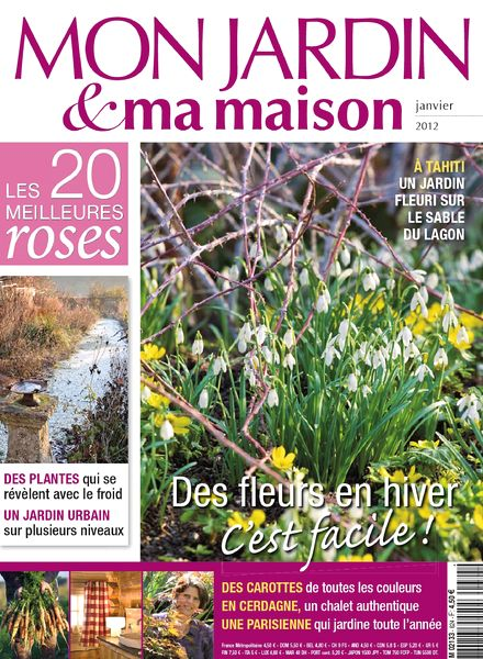 download mon jardin ma maison 624 janvier 2012 pdf magazine. Black Bedroom Furniture Sets. Home Design Ideas