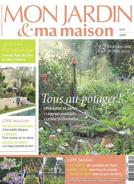 Download mon jardin ma maison 592 pdf magazine for Magazine maison jardin
